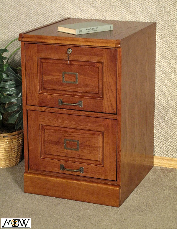 mission style oak two drawer file filing cabinet 760771667795 ebay. Black Bedroom Furniture Sets. Home Design Ideas