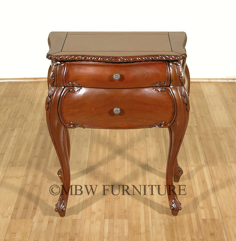 Solid Mahogany BombayQueen Anne 2 Drawer Occasional  : MBWJBE066 LWNC06813 from ebay.co.uk size 778 x 792 jpeg 142kB