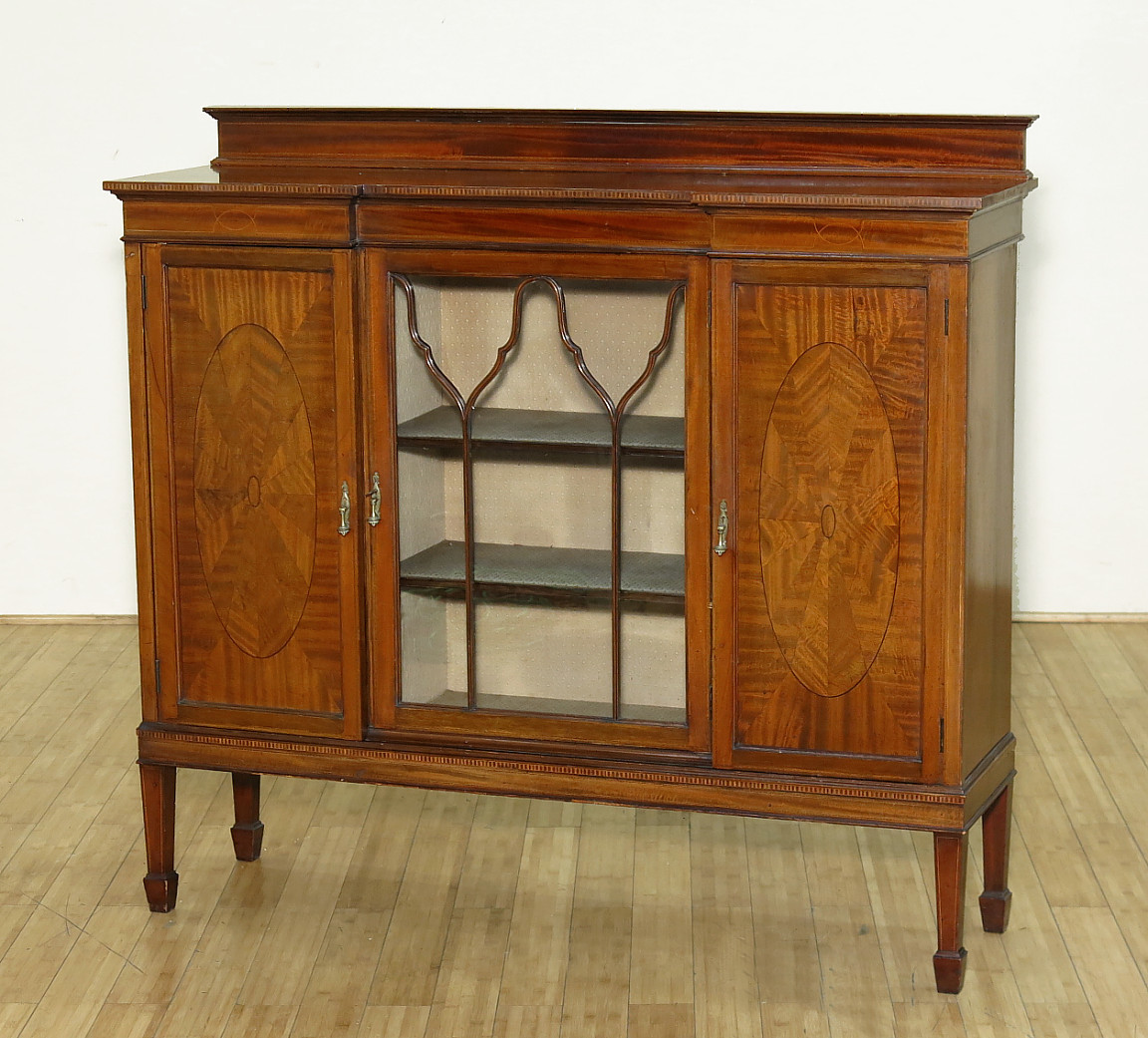 #793E12 Vintage Mahogany Curio Display Cabinet W Side X Side  with 1152x1041 px of Recommended Mahogany Display Cabinets With Glass Doors 10411152 save image @ avoidforclosure.info