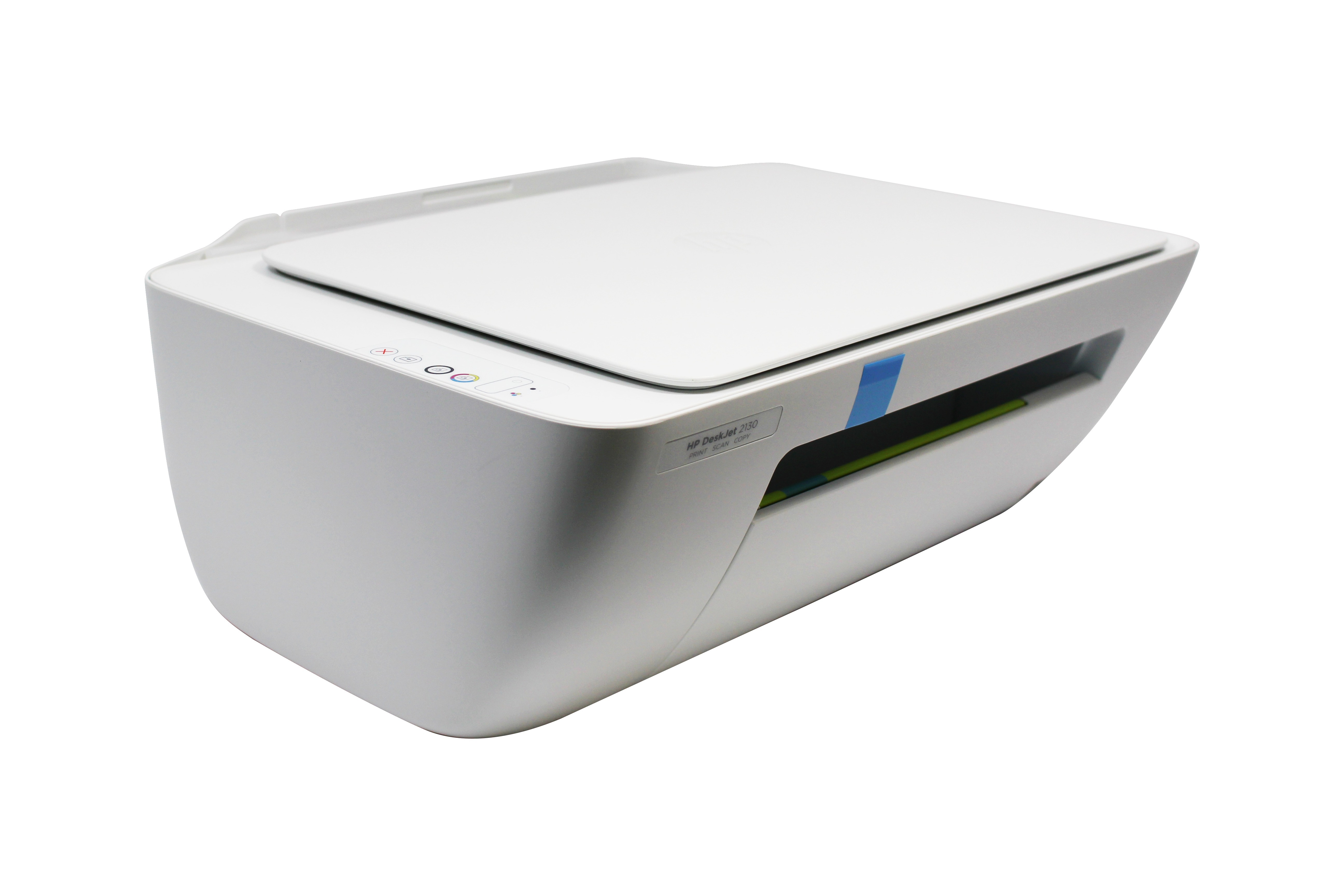 HP DeskJet 2130 Compact All-in-One Photo Print Copy Scan ...