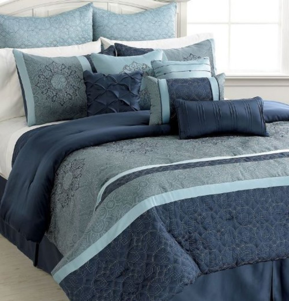 Best 28 Blue California King Comforter Sets Harbor