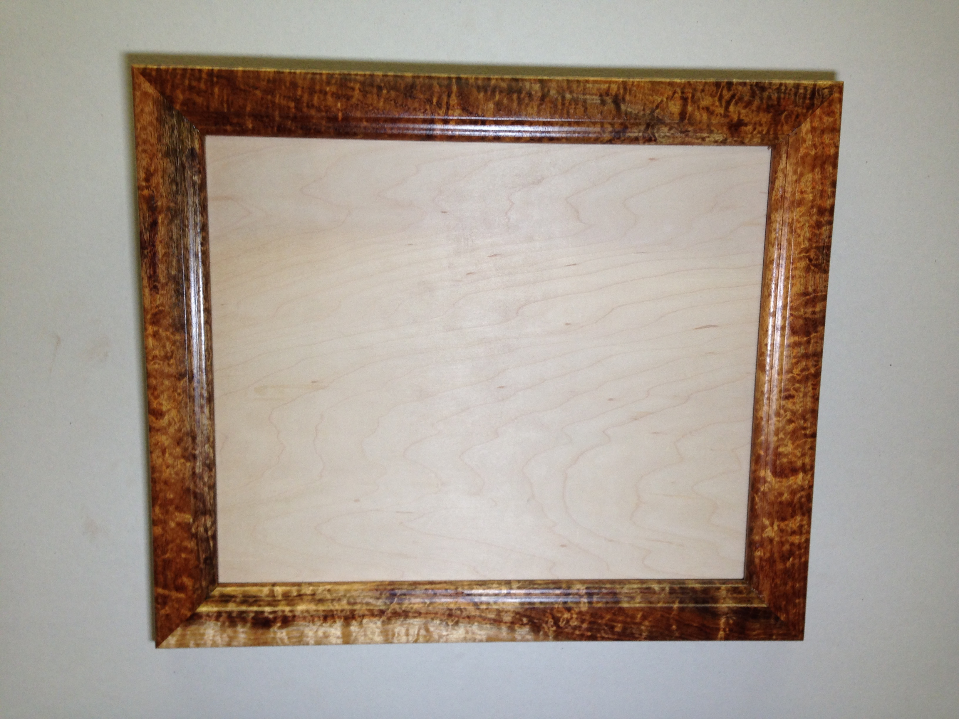 16x20 solid hawaiian curly koa frame ponopono series ebay for 16x20 frame