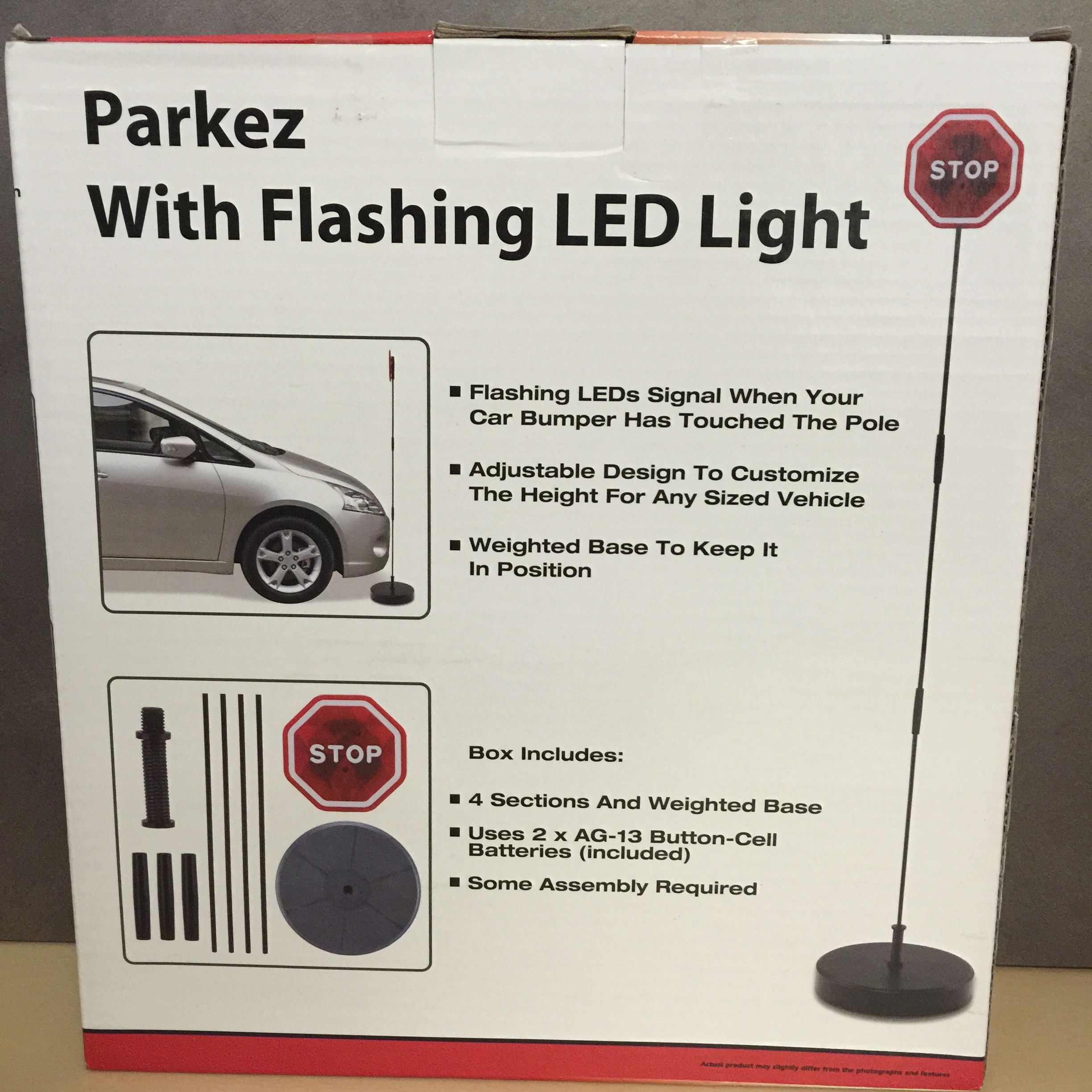 Parking Garage Sensor Lights: NEW, Parkez With Flashing Red LED Light Garage, Parking