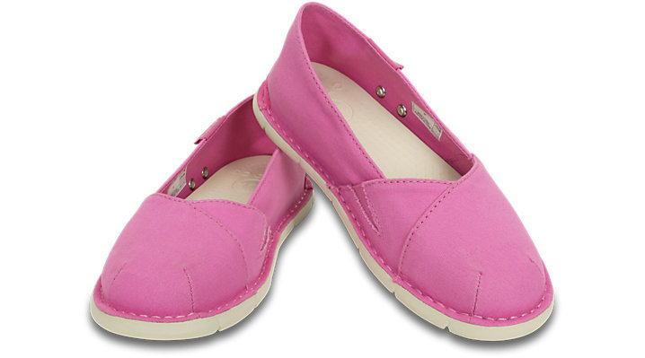 Crocs-Girls-039-Cabo-Slip-On-Sneaker-Party-Pink-Stucco thumbnail 8
