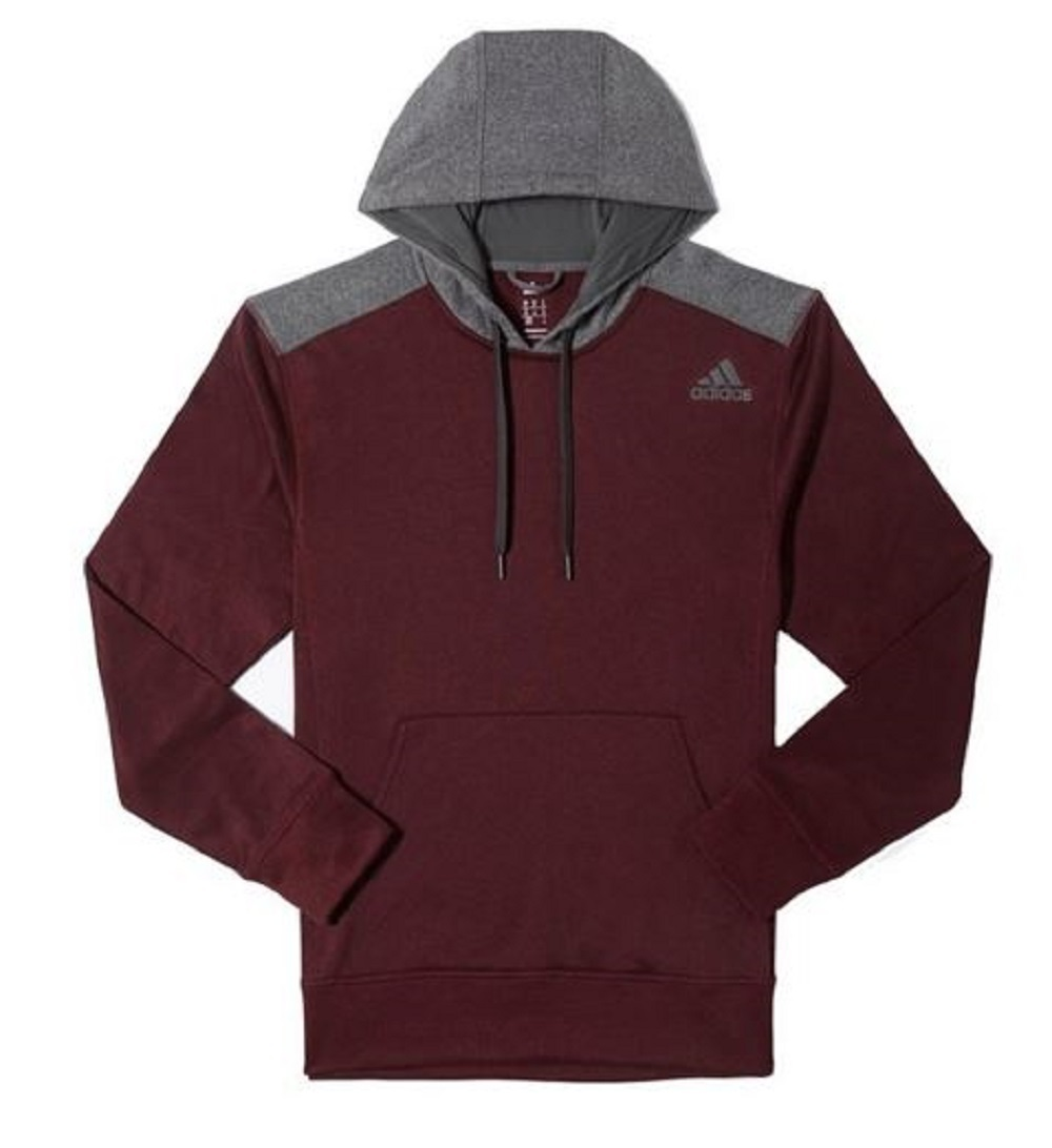 adidas men 39 s ultimate pullover hoodie with climawarm technology ebay. Black Bedroom Furniture Sets. Home Design Ideas