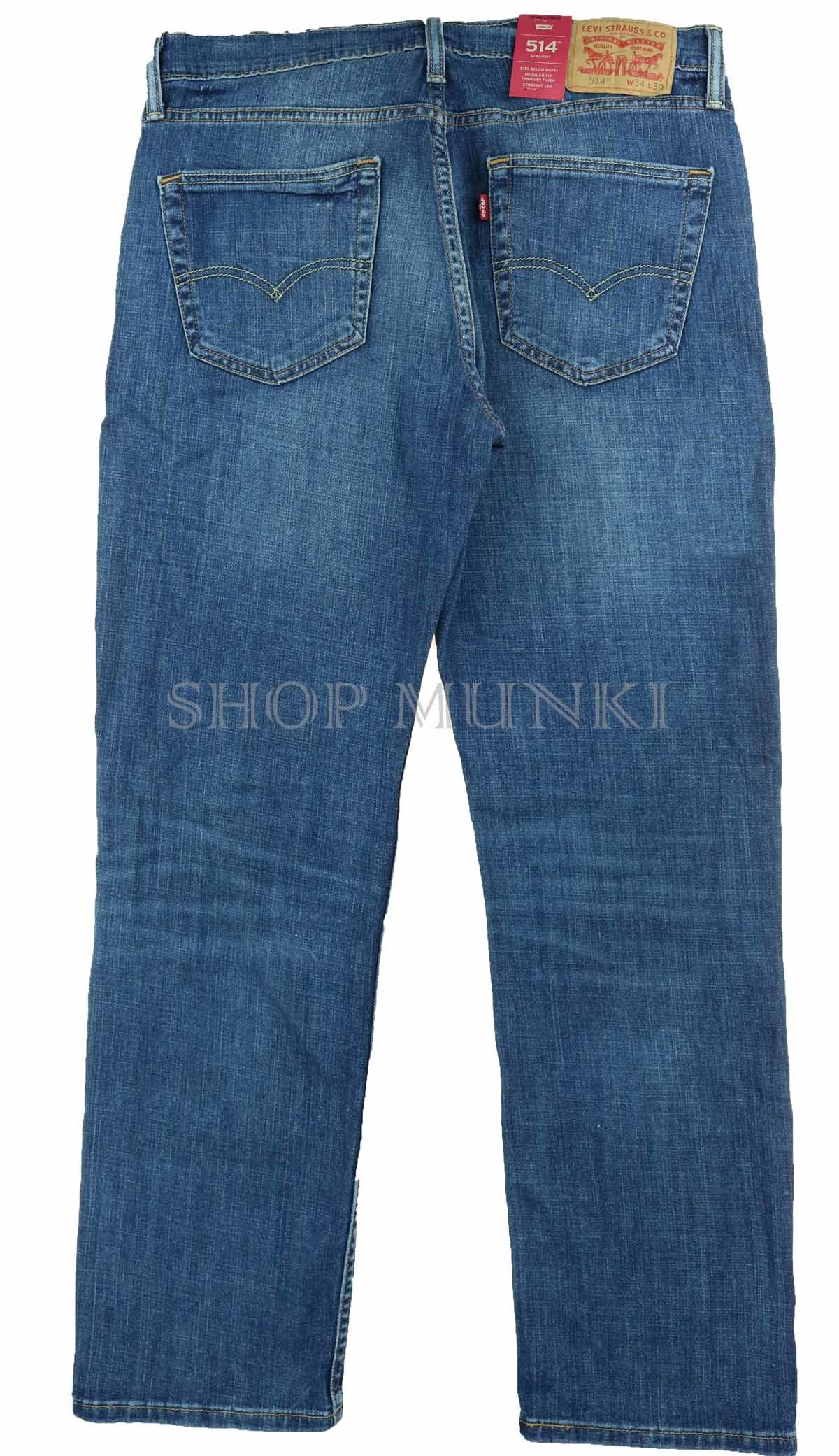 Levi 514 Slim Straight Mens Jeans