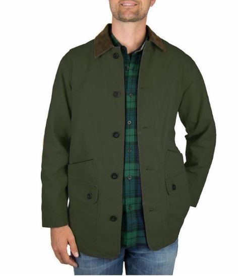 Orvis Classic Collection Men's Canvas Quilted Barn Jacket ...
