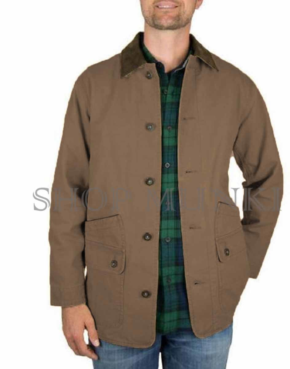 Orvis Classic Collection Men's Canvas Quilted Barn Jacket | eBay : mens quilted barn jacket - Adamdwight.com