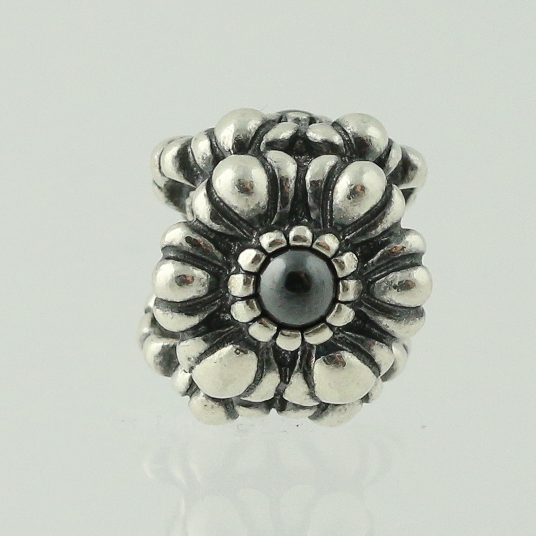 new pandora bead charm sterling birthday blooms march