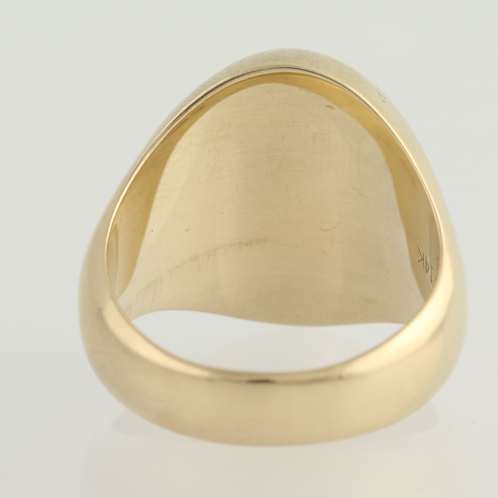 woodberry forest school class ring 14k yellow gold s