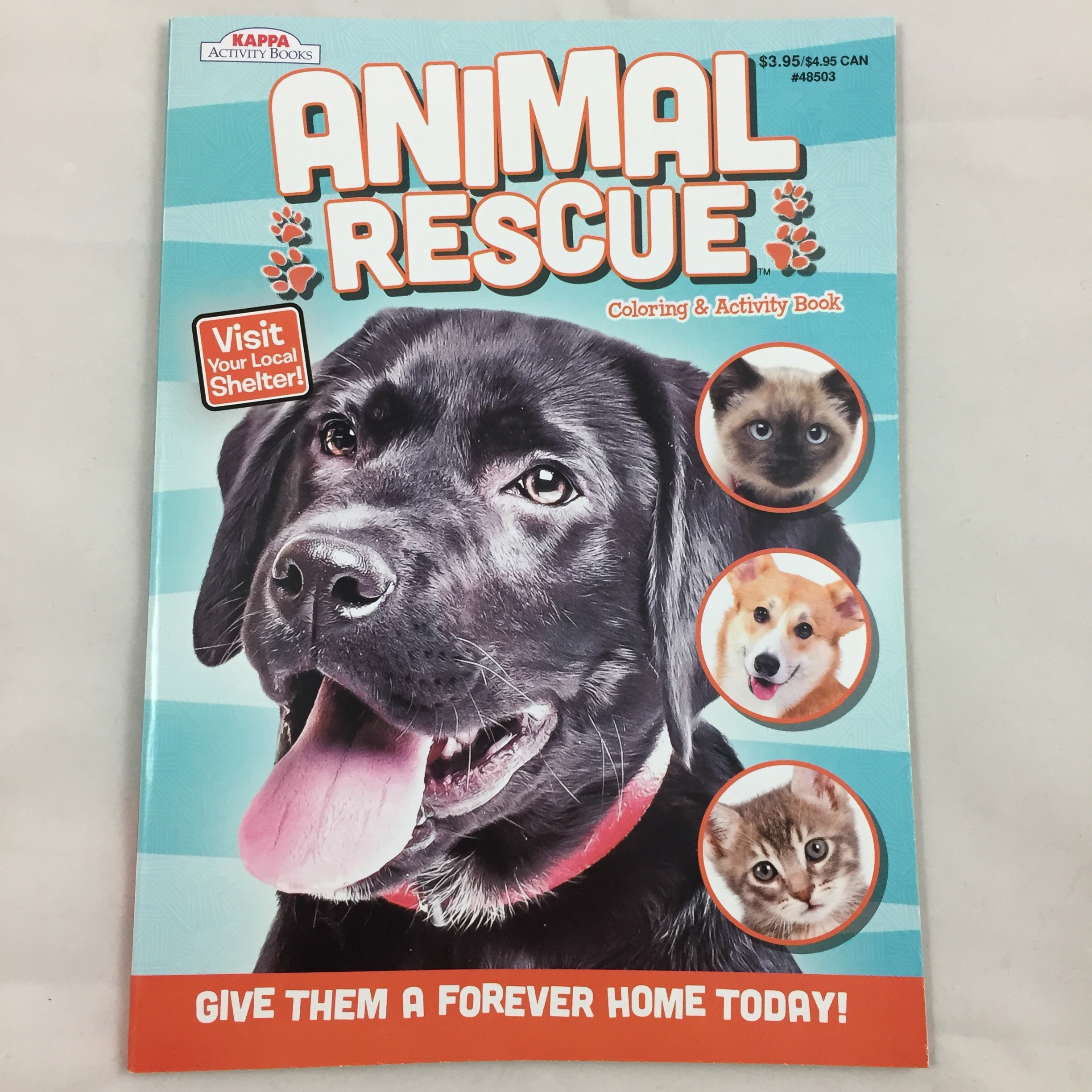 Animal Rescue Coloring And Activity Book