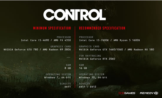 Control System Requirements - Can I Run Control System Requirements