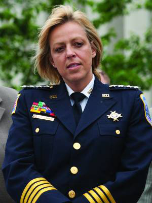 Cathy L. Lanier, D.C. Police chief