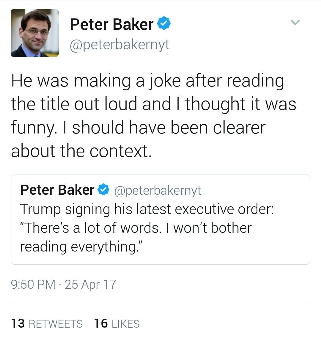 April 25 : It was a joke!