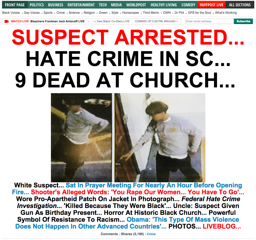Here's How Headlines Across The U.S. Reported The South