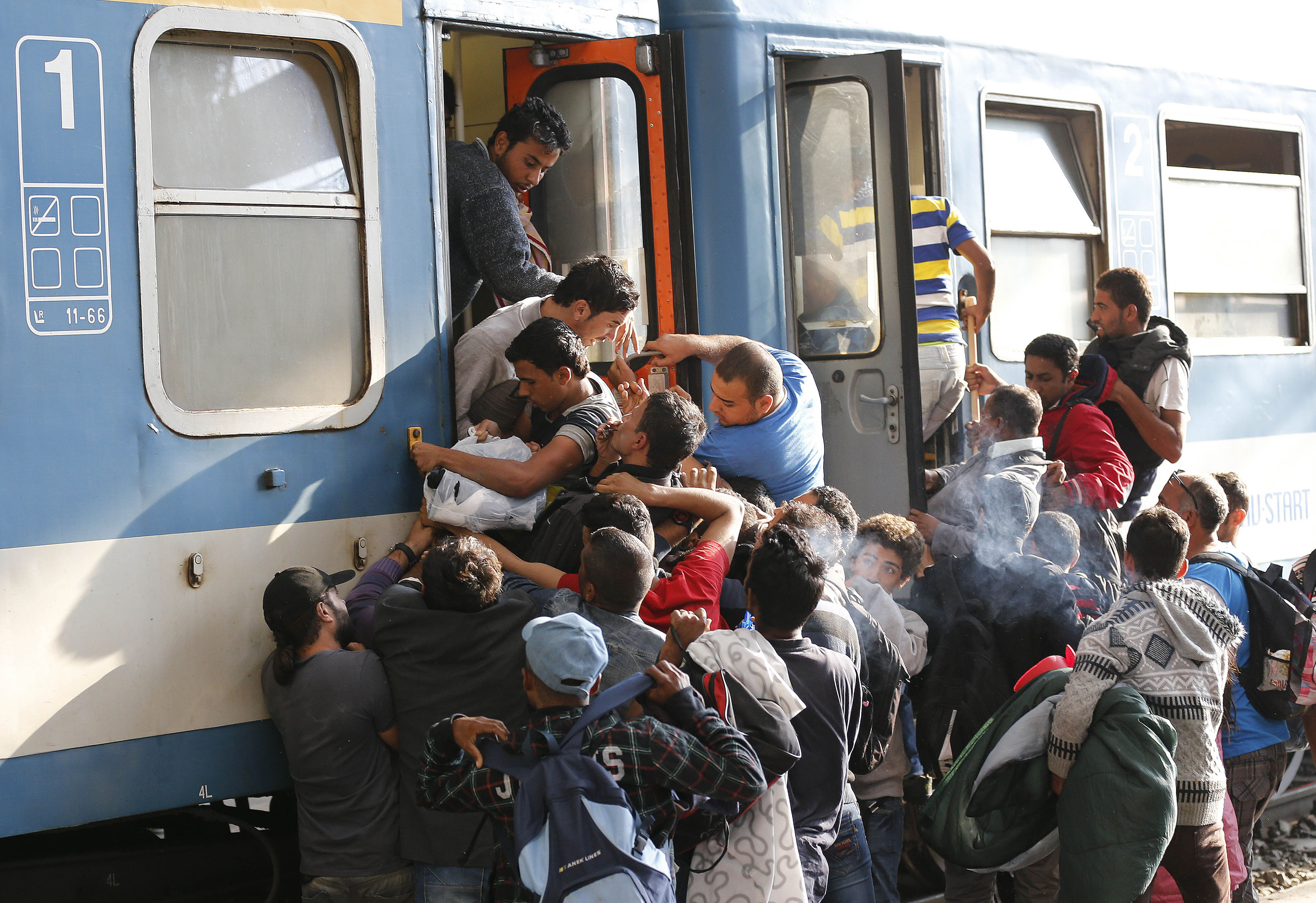 syrian refugees problem Dispatch: germany has a refugee problem, and the problem is the  unidentified syrian refugees arive at the refugee center on december 10, 2013 in friedland, germany hundreds of thousands of .