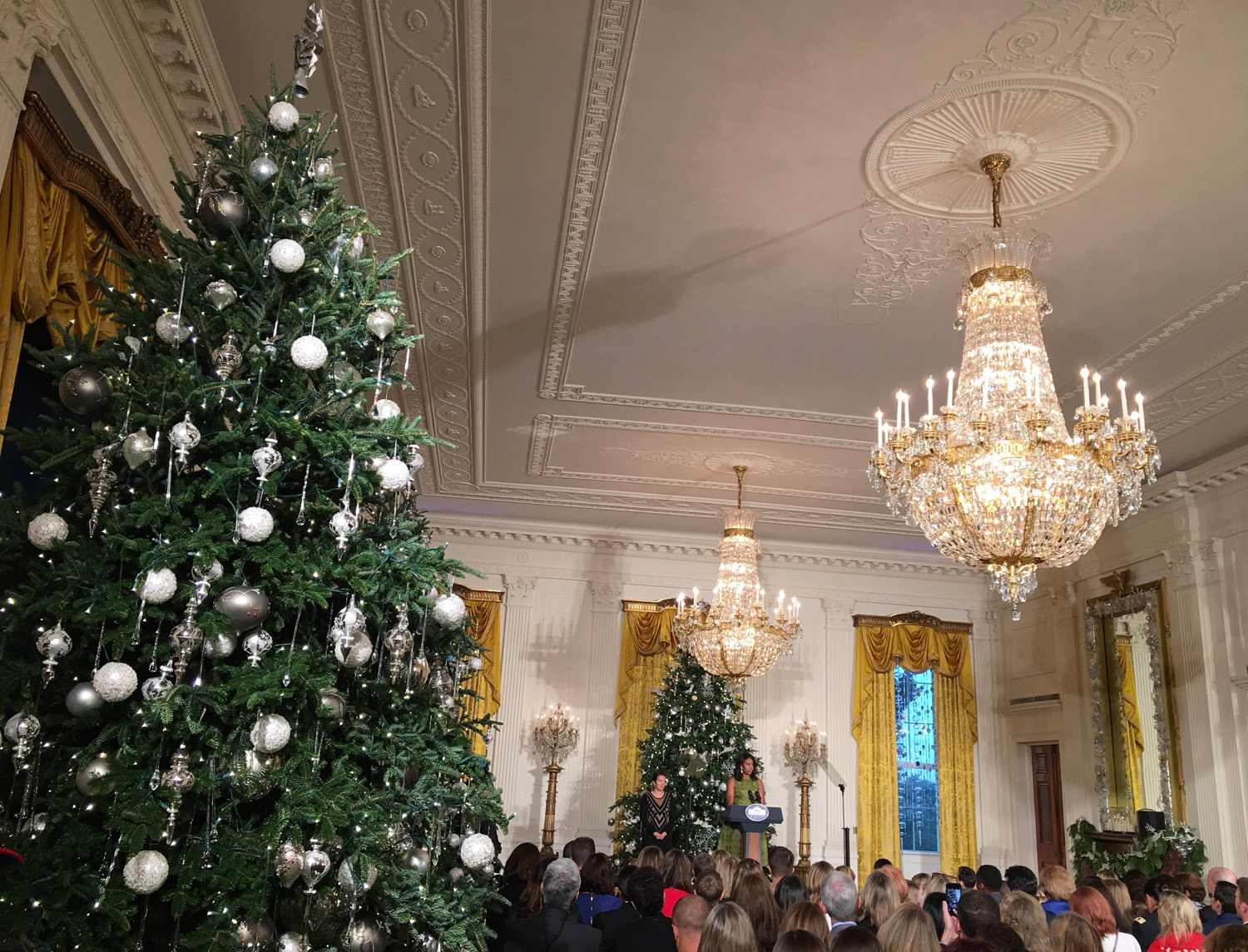 White house christmas ornaments by year - This Year 68 000 Guests Are Expected To Pass Through The White House And The Festivities Inside Should Not Disappoint