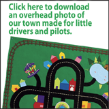 Town map for little ones
