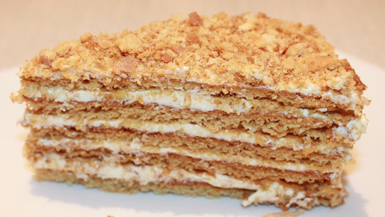 Рецепт как сделать торт медовик