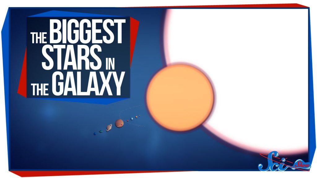 The Biggest Stars in the Galaxy