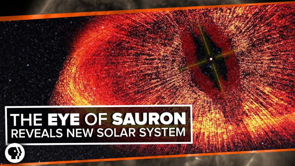 The Eye of Sauron Reveals a Forming Solar System!   Space Time