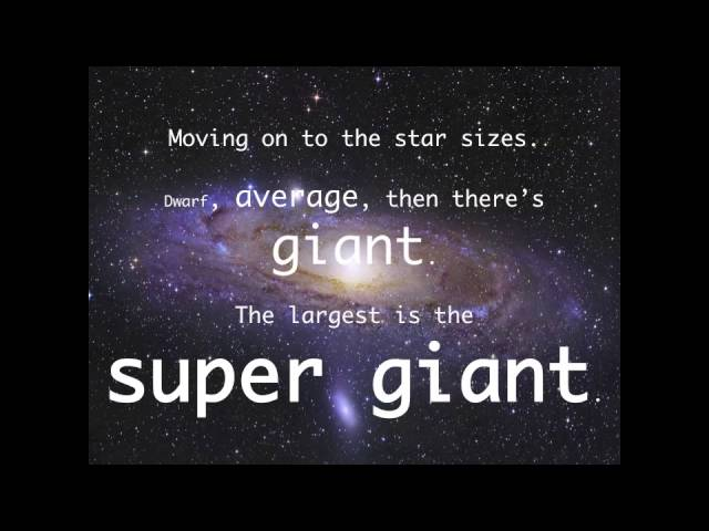 Science Song – Galaxies and Stars – SC.5.E.5.1