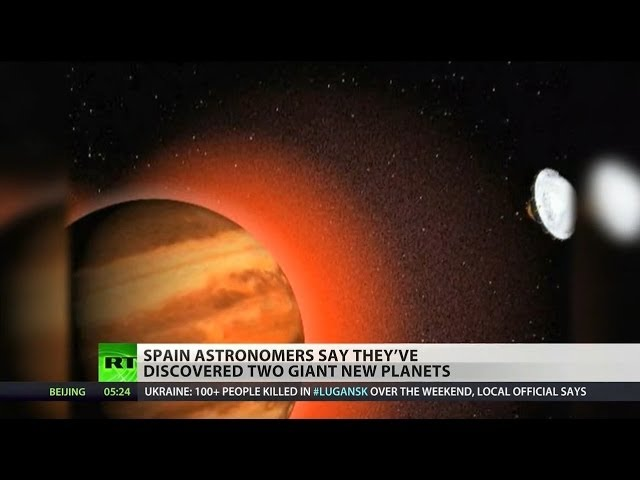 Spanish astronomers discover two new planets in solar system