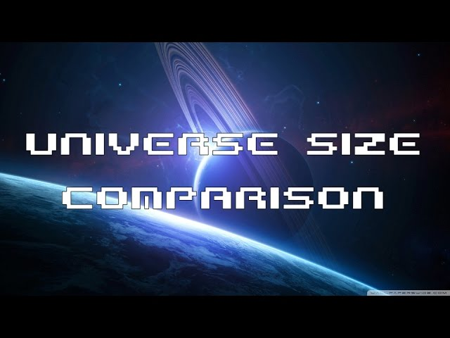 Universe Size Comparsion: Moons, Planets, Stars, Nebulae, Galaxies, Clusters [Updated]