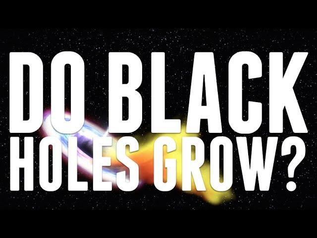 Do Black Holes Grow?