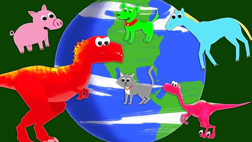 Dinosaurs, Planets, and Animals Compilation   Toddler Learning   Astronomy Paleontology Zoology