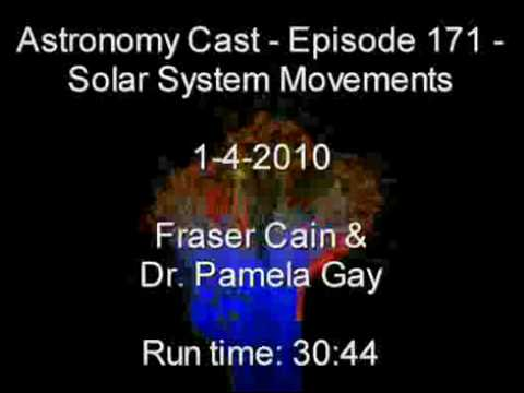 Part 2 – Astronomy Cast Episode 171 – Solar System Movements & Positions (1-3-2010 )