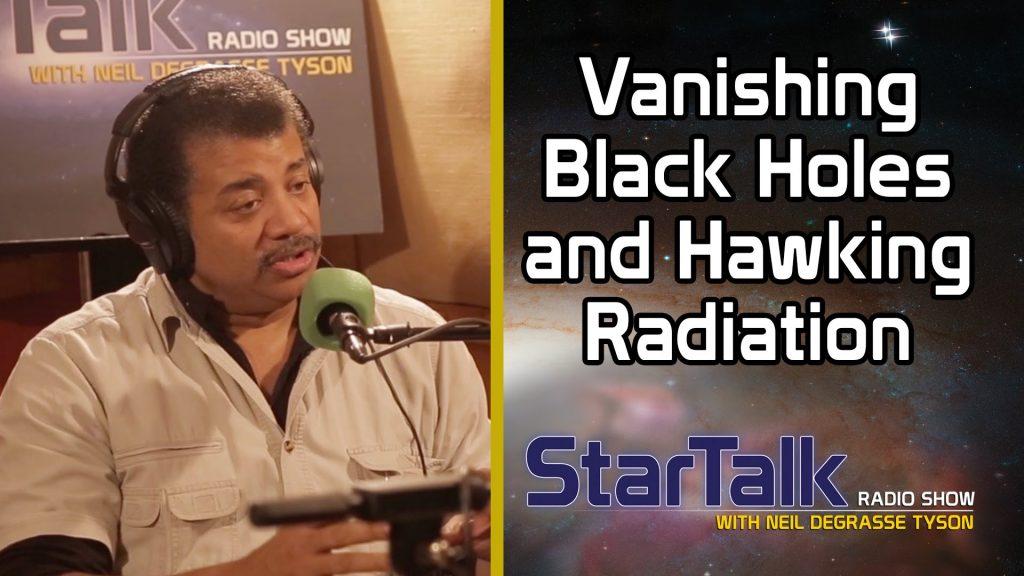 Neil deGrasse Tyson Explains Vanishing Black Holes