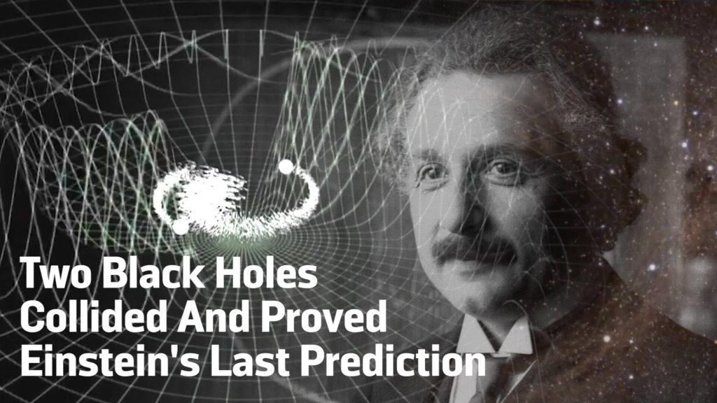 Two Black Holes Collided And Proved Einstein's Theory