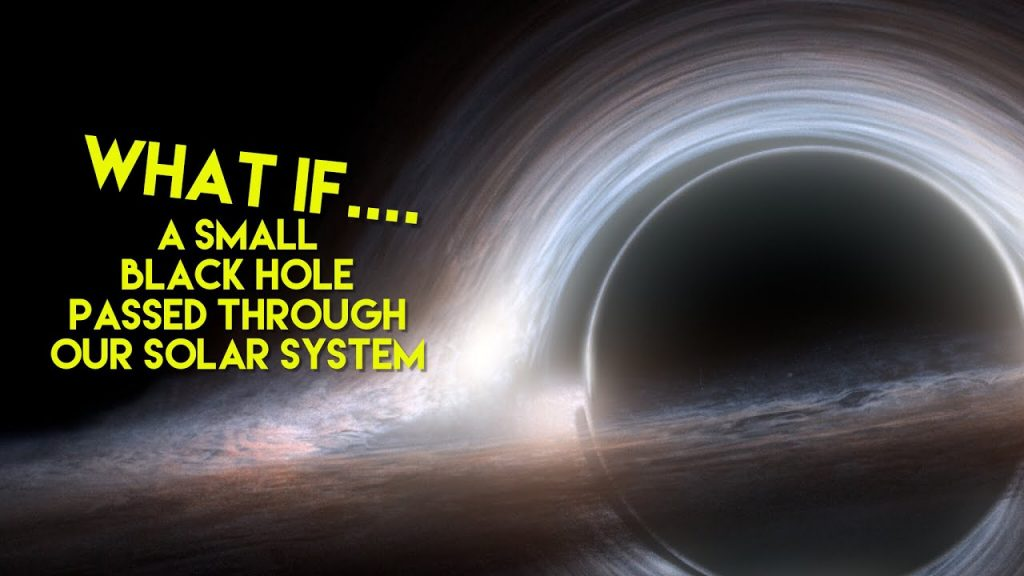 What if… A small black hole passed through our solar system