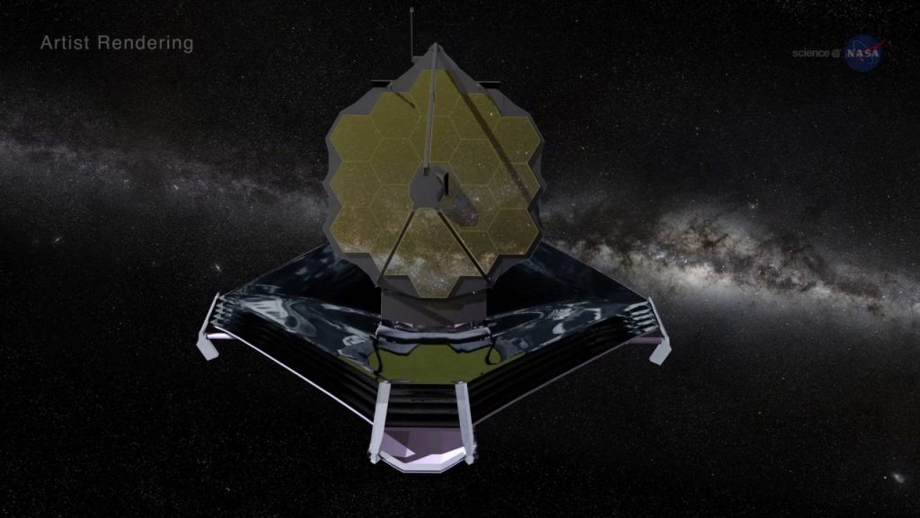 James Webb Space Telescope will show the first Stars and Galaxies that formed in the early universe.