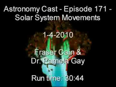 Part 3 – Astronomy Cast Episode 171 – Solar System Movements & Positions (1-3-2010 )