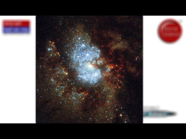 NASA's Hubble Space Telescope Captures 'Hidden Galaxy'