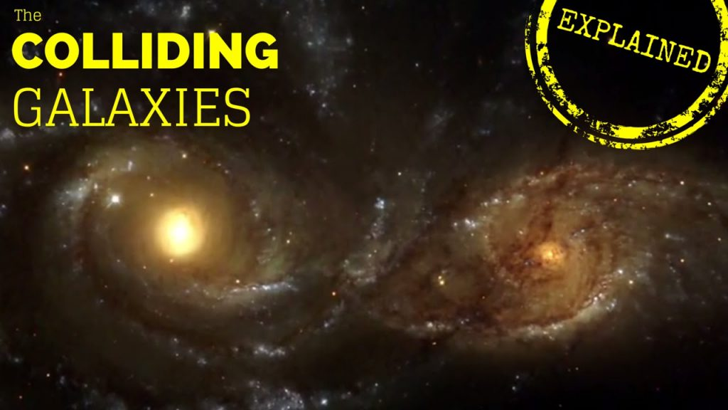 The Universe Documentary – Colliding Galaxies: Explanation & Supercomputer Simulation
