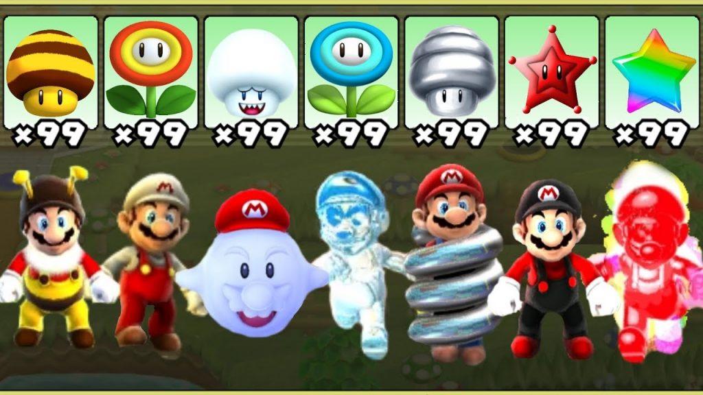 Super Mario Galaxy – All Power-Ups