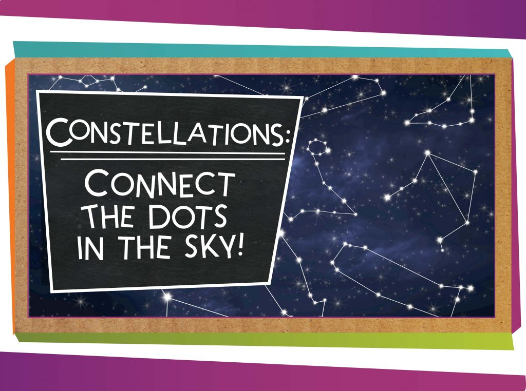 Constellations: Connect the Dots in the Sky!