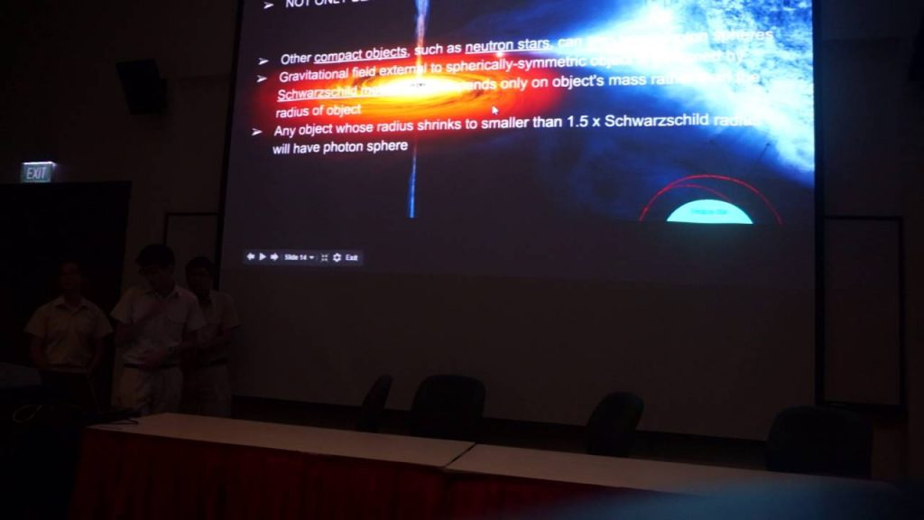 Astronomy Sharing Session: Black Holes