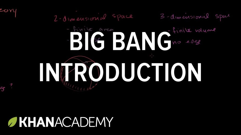 Big bang introduction | Scale of the universe | Cosmology & Astronomy | Khan Academy