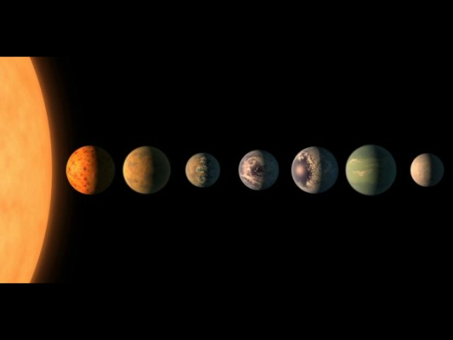 Astronomers find seven Earth size planets where life may be possible