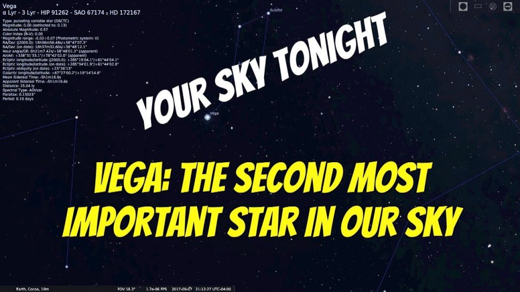 Vega: The Second Most Important Star in Our Sky