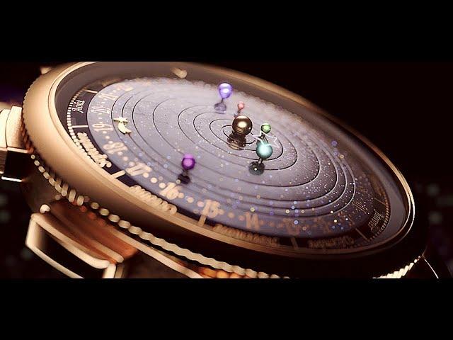 3D video of the Midnight Planétarium Poetic Complication™