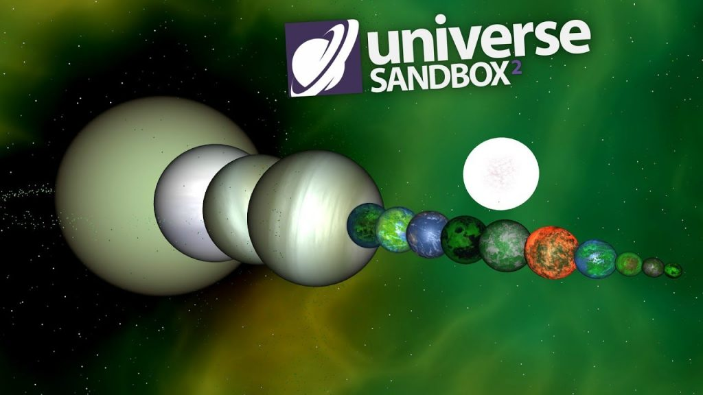 Making A Solar System Out Of Green Objects, Universe Sandbox