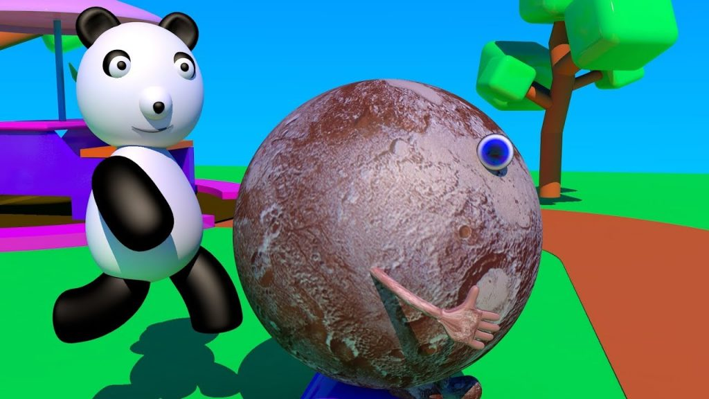 Learn Dwarf Planets with Baby Panda Explore Our Solar System Games For Kids Nursery Rhymes For Baby