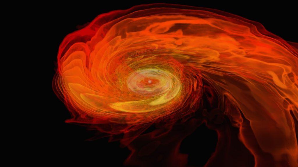 NASA | Neutron Stars Rip Each Other Apart to Form Black Hole