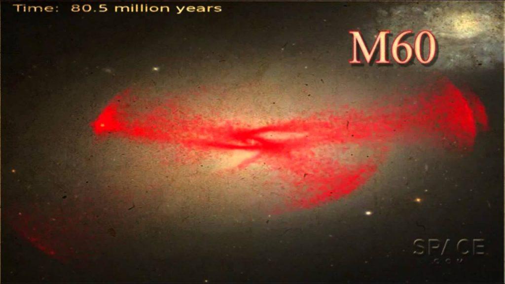 Monster Black Hole Found in Dwarf Galaxy