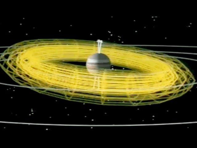 Ulysses Encounter With Jupiter 1991 NASA; Solar Astronomy Satellite Orbiting Sun's Poles